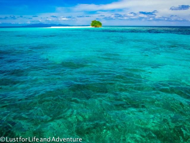 Tiny deserted island