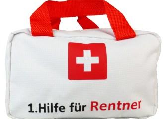 Tasche zum Ruhestand Geschenk für Rentner