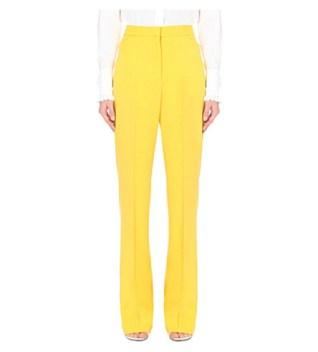 Stella McCartney Tuxedo Wide-leg Wool Trousers