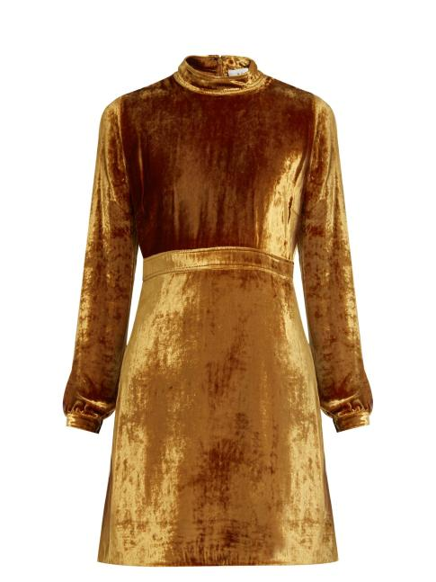 a-l-c-gemma-high-neck-velvet-dress