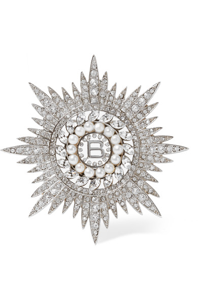balenciaga-palladium-tone-cubic-zirconia-and-swarovski-pearl-brooch
