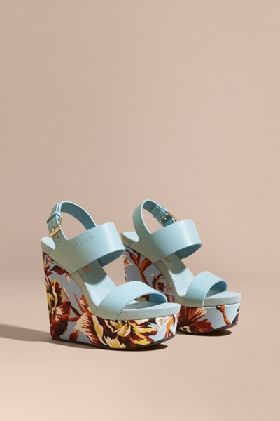 Burberry Peony Sandals