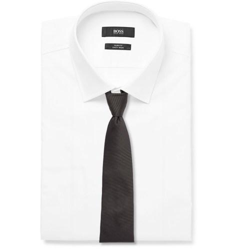 HUGE BOSS_white shirt