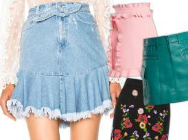 Small Wonders: Upgraded Mini Skirts