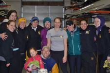 A group of former rowers at the 2013 Meyer Lamberth Cup