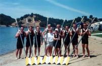 1999 Novies heavy men's 8+, PCRCs, Lake Natoma, CA