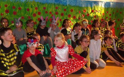 Spectacle élèves CP école Saint Jean