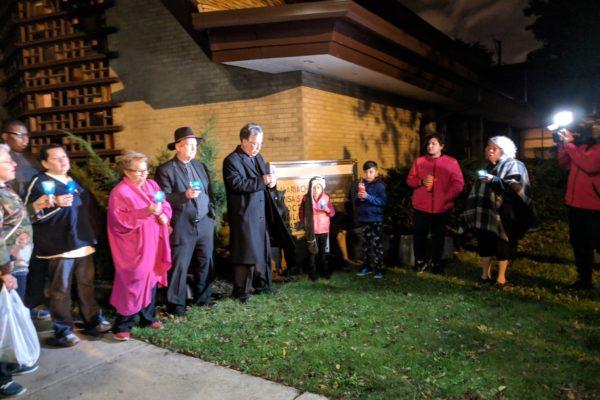 St. Timothy - Peace Vigil - Encuentro 2018