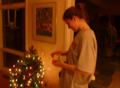 Bigger Child, smaller tree. 'Thoughts that count' bigger than ever