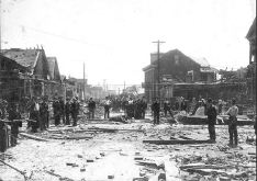Rutgers and 7th 8th St. tornado damage