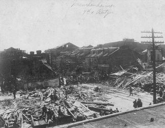 Rutgers and 7th tornado damage