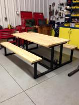 Beautiful table to be auctioned at the FFA & 4H auction Monday, Jan 18.