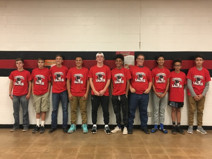 The Eighth Grade Luther Lions