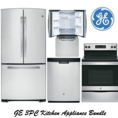 Kitchen Appliance Packages Stainless Steel Menards Cabinets Bundle Buy Now Pay Later Financing Bad Credit Ge 3 Piece Package