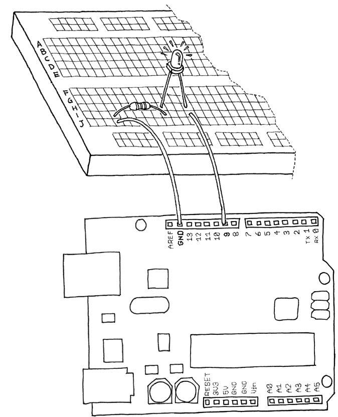 Proyek Kedua Arduino 'Lampu Bernafas'