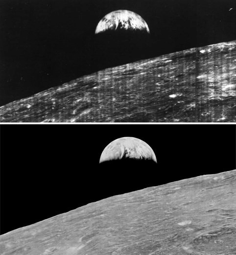 Earthrise old & new