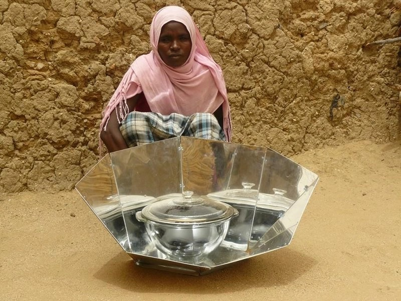 Solar Cookers for Refugees in Africa supported by Lutheran World Federation and other partners