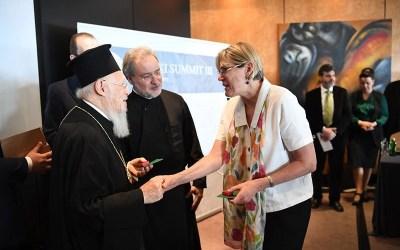 Eastern Orthodox Patriarch gathers ecumenical leaders on 'greening' initiatives
