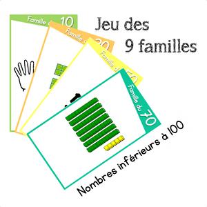 9 familles numération