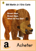 Brown bear what do you see