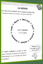 semaine leçon CP CE1