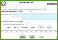 Nelson Mandela questionnaire CE2