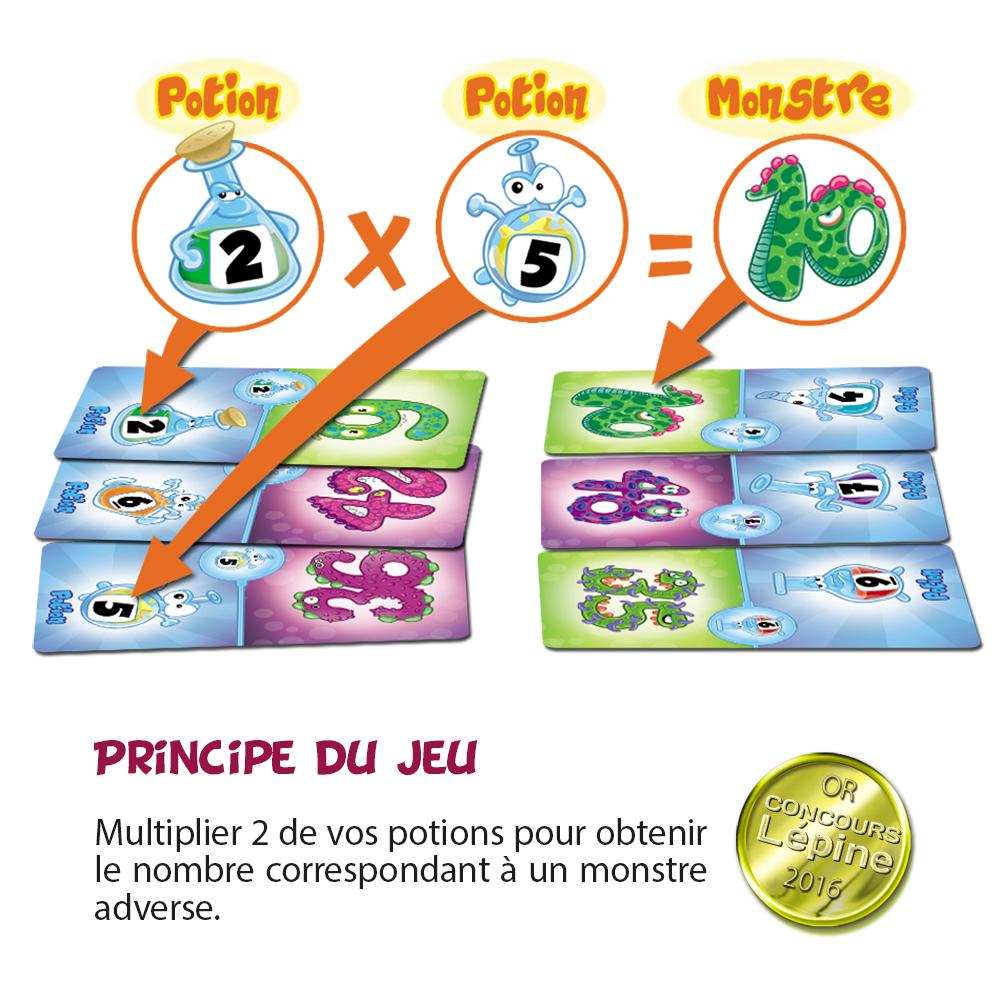 Des jeux pour apprendre les tables de multiplication for Comment apprendre ses tables de multiplication facilement