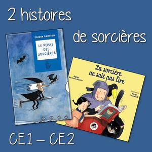 2 Histoires De Sorcires Pour Les CE1 CE2
