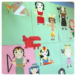 Pixel Art Mythologie Grecque Lutin Bazar