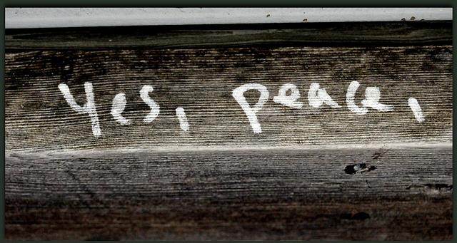 Yes, Peace