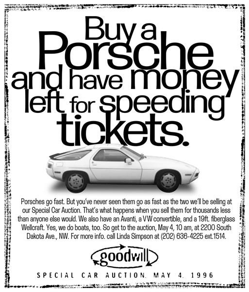 Goodwill - Porsche