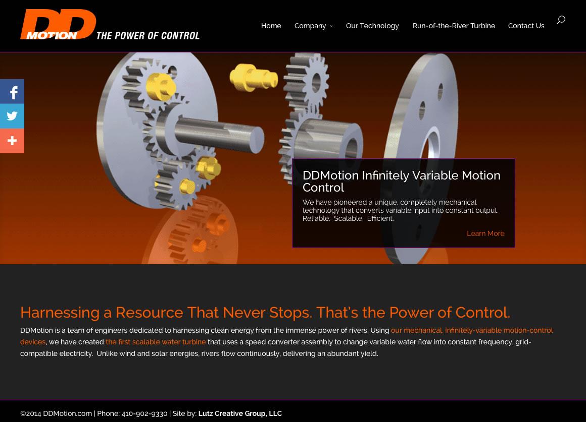 DD Motion (Wordpress Website)
