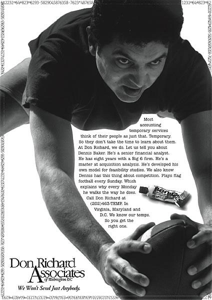 Don Richard - Football (Print)