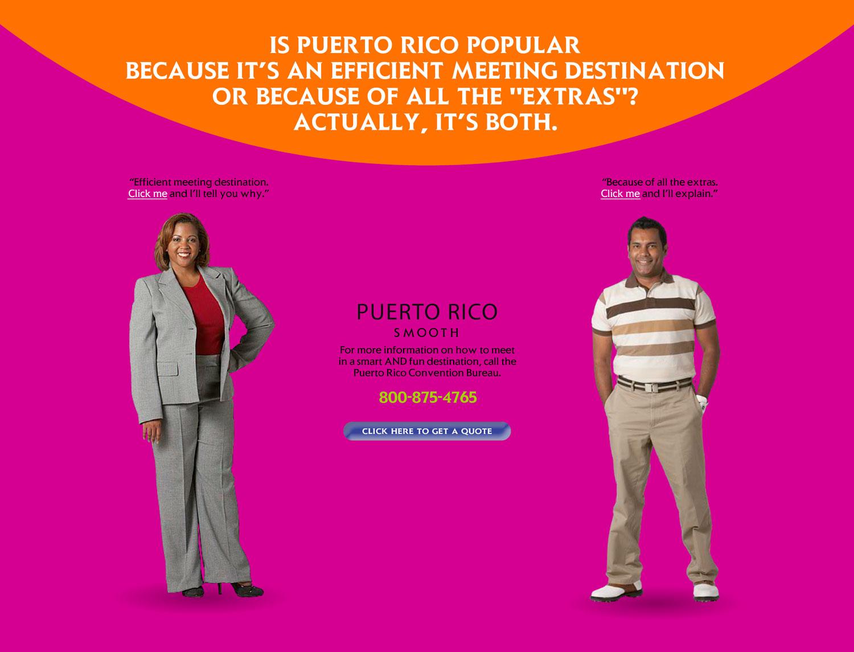 Puerto Rico Convention Bureau - Microsite