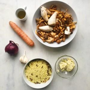 risotto vegan recept