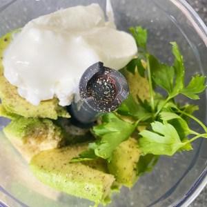 avocado dip maken