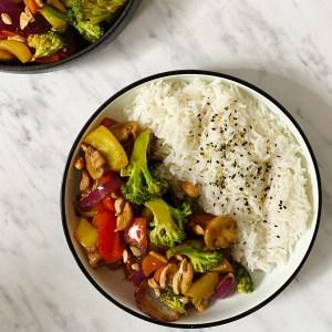 vega wok met rijst
