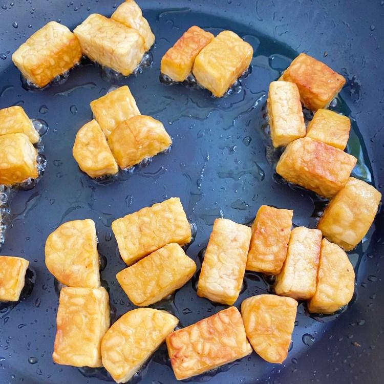gebakken tempeh