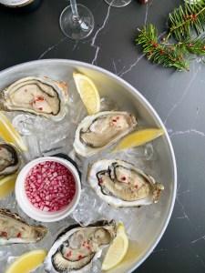 recept voor oesters