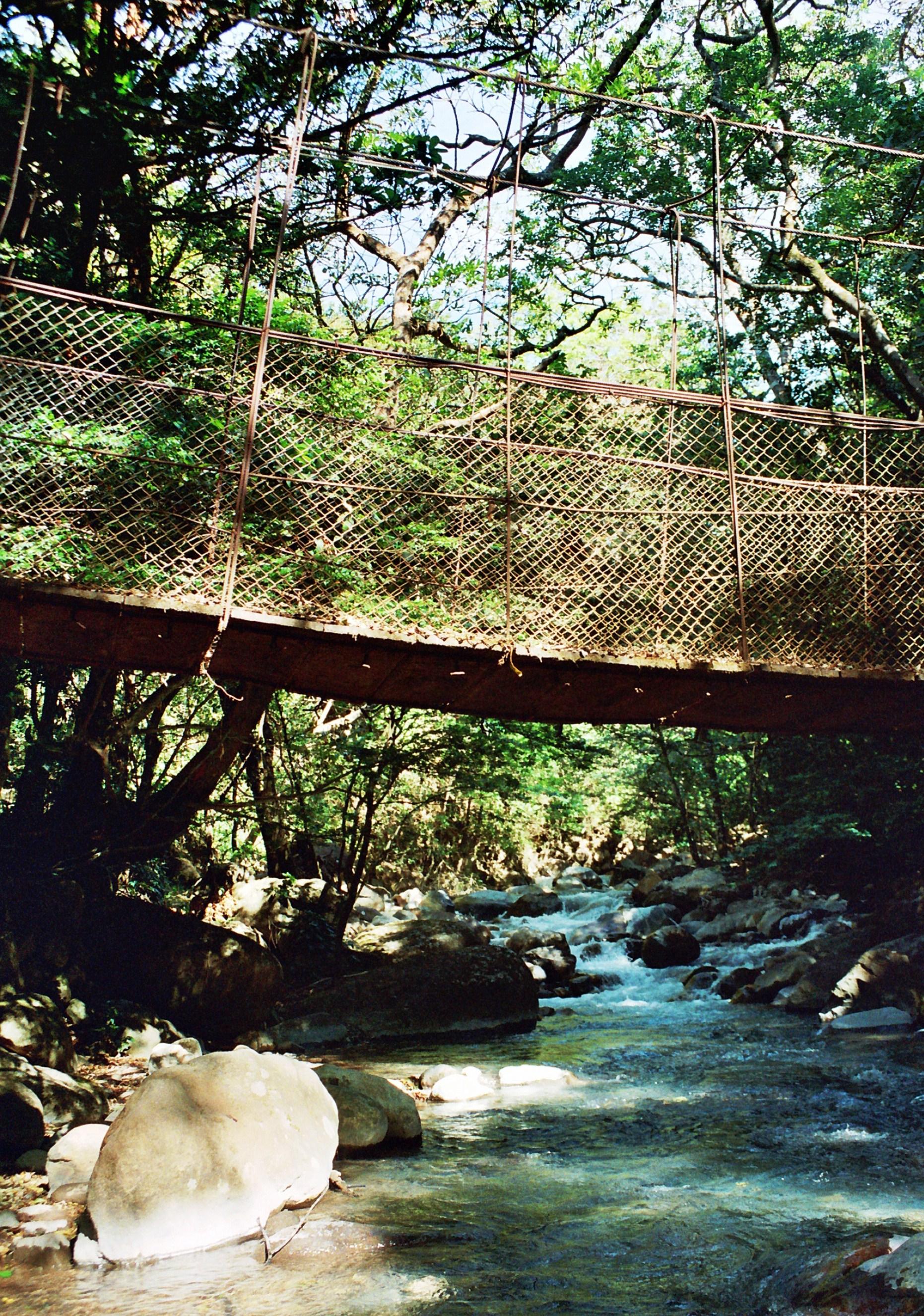 most přes říčku, Rincon de la Vieja