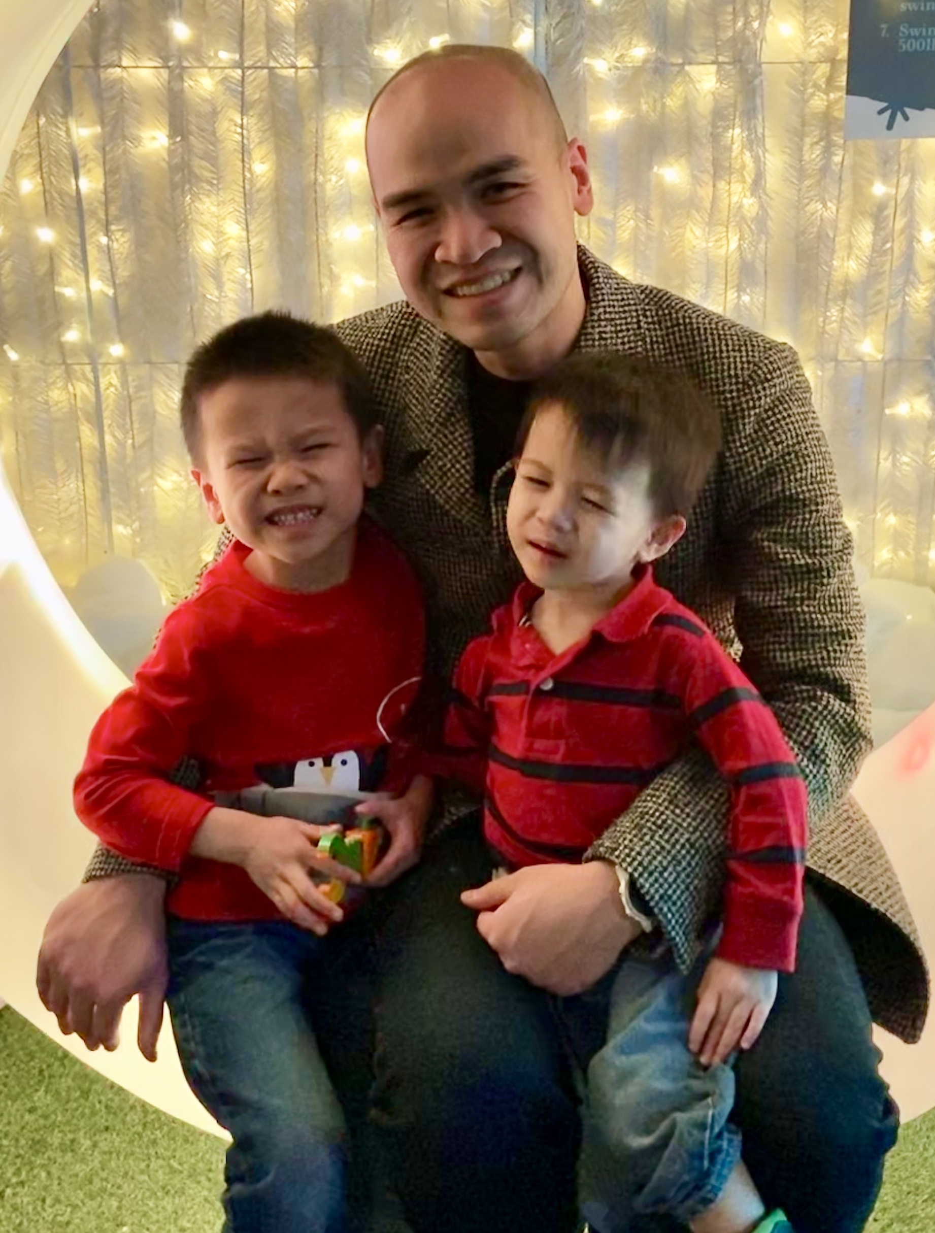 Andrew happy with kids - weight loss transformation story