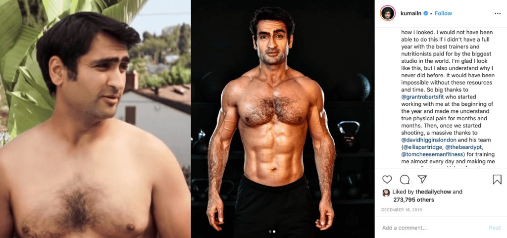 kumail nanjani and the weight control spectrum, how environment matters