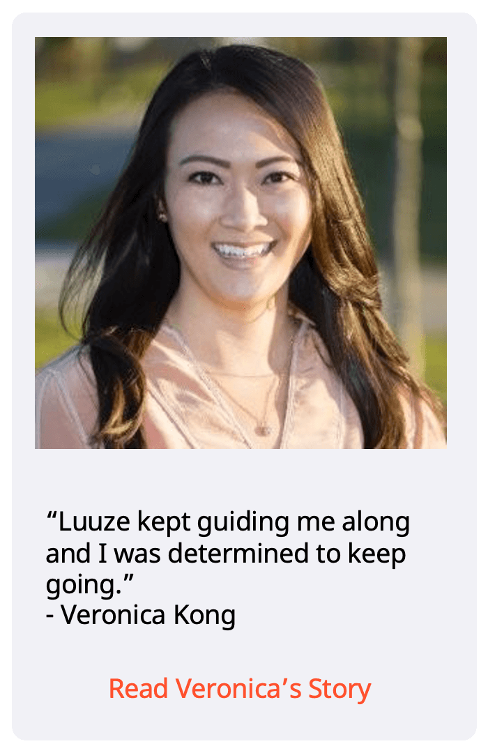 Luuze weight loss coach: testimonial