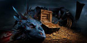 der Jäger und Sammler sitzt wie der Drache auf seinem Schatz