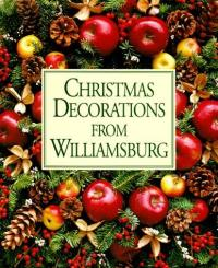 Williamsburg style decorations | Chronicles of life as an ...