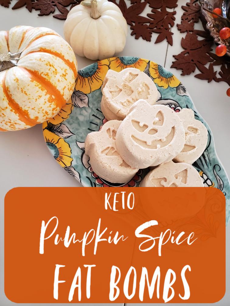 PSL Fat BomBs - Pumpkin Spice Keto