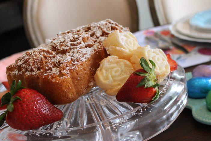 Spring Pound Cake Recipe