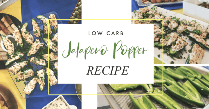 Low-Carb Jalapeño Popper Recipe