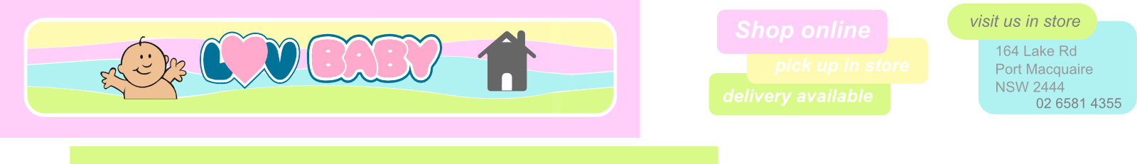 Luv Baby Warehouse Logo