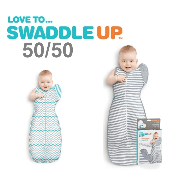 Love to swaddle up 50-50